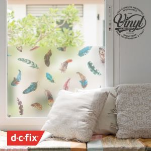 67cm Static Premium Feather Ninja Window Privacy Film (216-8038) cut to size from 1 to 15 metres